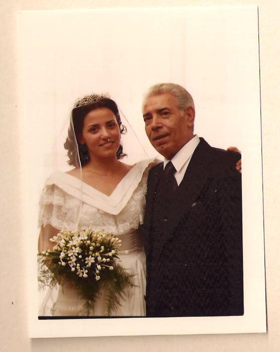 Rosanna Cavarra and Luciano Cavarra, My beloved Dad